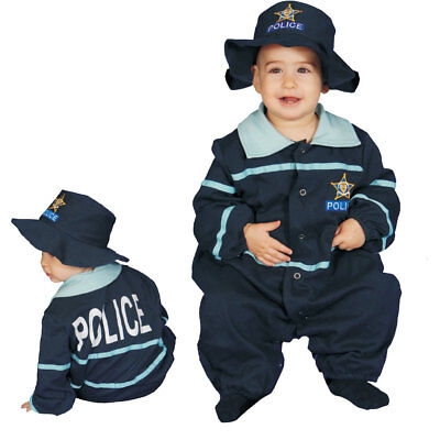 Baby Police Officer Costume Fancy Dress Set for Babies