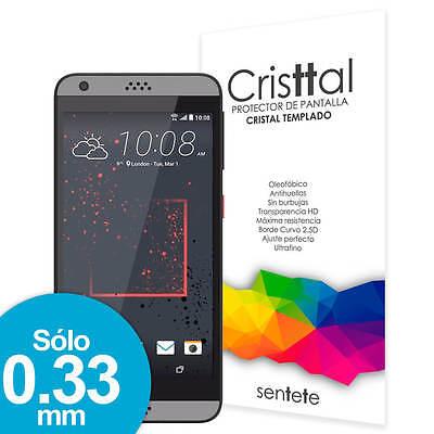 Sentete® HTC Desire 530 Protector de Pantalla de Cristal Templado PREMIUM