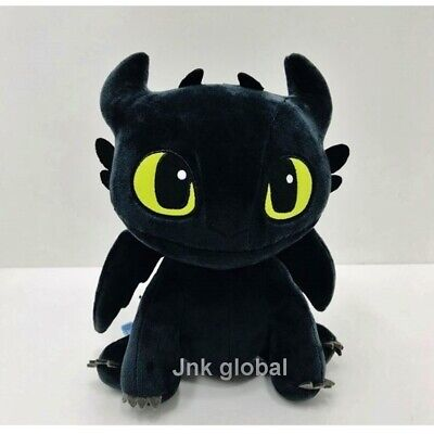 How To Train Your Dragon 3 Toothless Plush Rag Doll with Tag 9.8 Inch+ Free Ship