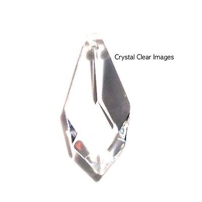 38mm Asfour Ice Drop Clear Crystal Prism Feng Shui Wholesale - Prism Iced