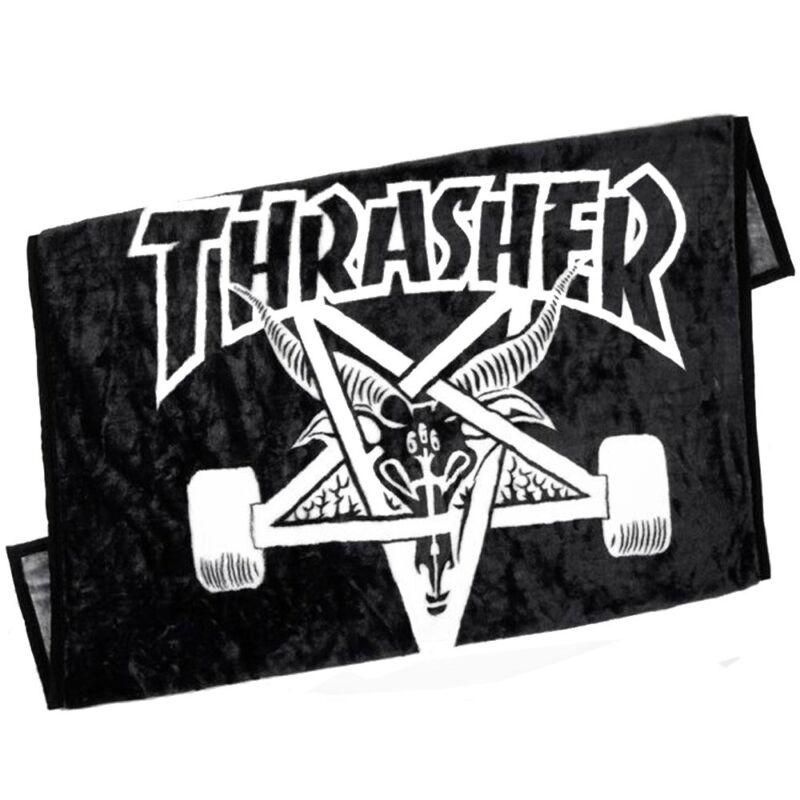 "Thrasher Magazine SKATE GOAT Skateboard BLANKET 50""X 60"""