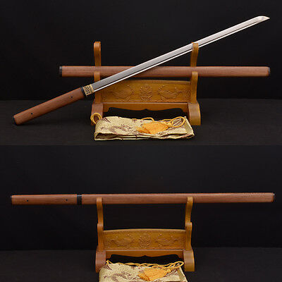 HIGH QUALITY ZATOICHI JAPANESE SAMURAI NINJA SWORD 8196 LAYERS DAMASCUS BLADE