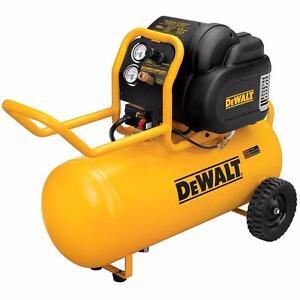 DEWALT D55167 1.6 HP 200 PSI Oil Free High Pressure Low Noise Horizontal Portable Compressor $379.99