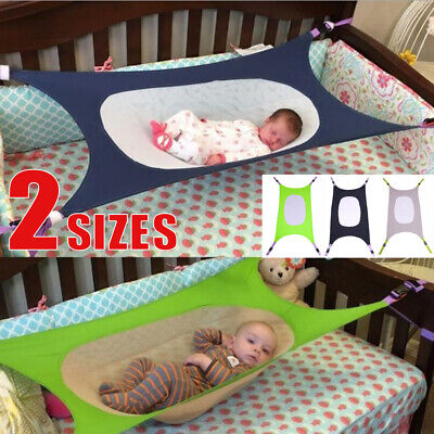Portable Infant Safety Hammock Folding Sleeping Bed Baby Oxford Cloth Cot Bed