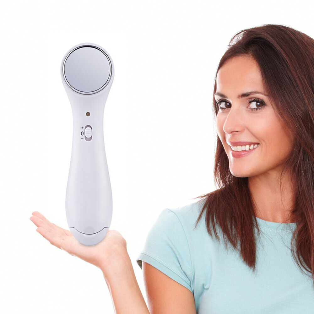Ultrasound Electric Anti-aging Ion Face Lift Facial Beauty Device Skin Massager 10