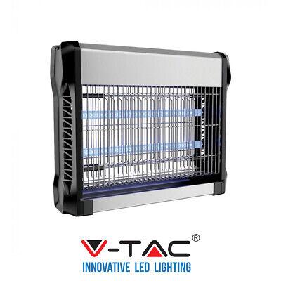 Mosquitera Lámpara Insecticida Eléctrico 16W 50m ² V-TAC 2 Lámpara Fluorescencia