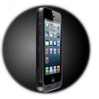 iPhone 5 5S SE 2400mAh Zusatzakku Batterie Extern Akku Case Hülle PowerPack