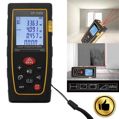 High Accuracy 100m 328ft Digital Lcd Laser Distance Meter Range Finder Measure