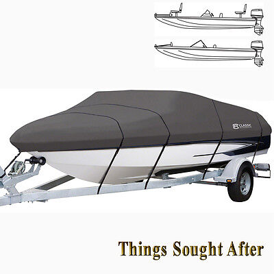 """STORMPRO TRAILERABLE MOORING Spread over for 16' 17' 18'-6"""" foot Pro-Style Bass Boat"""