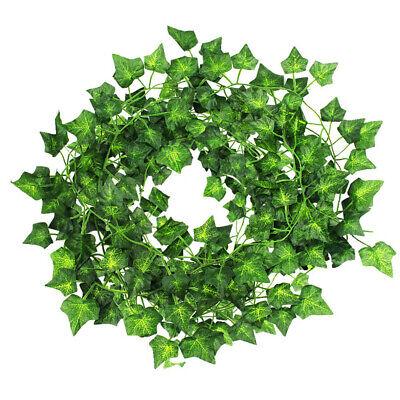 Artificial Ivy Vine Faux Leaf Garland Plants Wedding Plant Foliage Garden - Leaf Decor