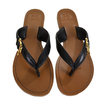 cf22037795b3 Tory Burch Nora Sandals Thong Black Size 7