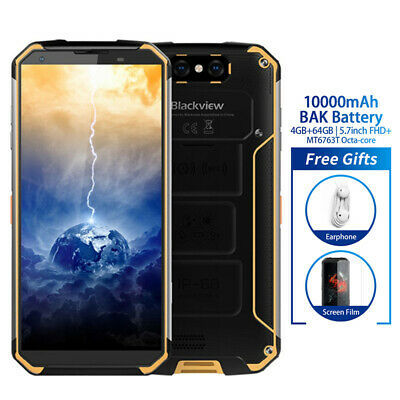 Blackview BV9500 IP68 4GB+64GB Smartphone 10000mAh Cellulare Waterproof Giallo
