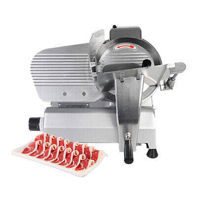 240w Commercial Electric Meat Slicer Cutter 10 Semi-automatic Cutting Machine