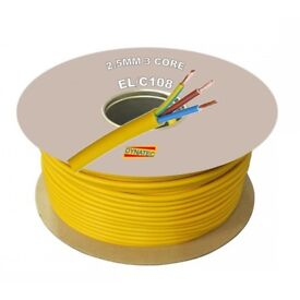 110v cable 100m rolls wanted