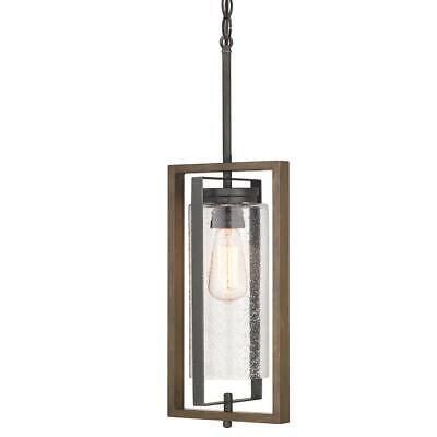 Home Decorators Palermo Grove Gilded Iron 1-Light Hanging Outdoor Lantern Iron Outdoor Hanging Lantern