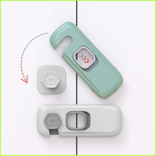 Cerradura De Nevera Refrigerador Protector De Niños Pequeños Cierre De Seguridad