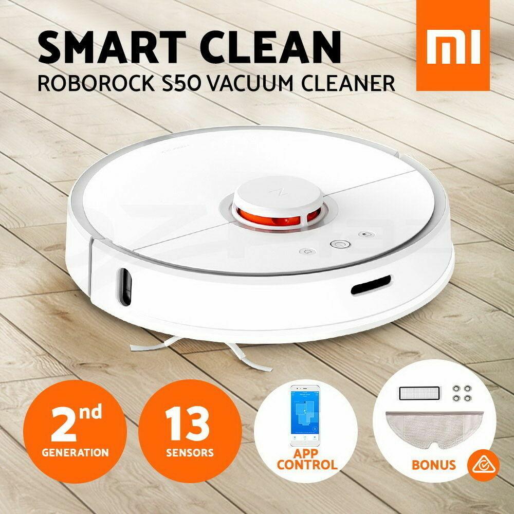Roborock S50 Robot Vacuum Cleaner 2 Smart Control Sweeping Robot EU Version