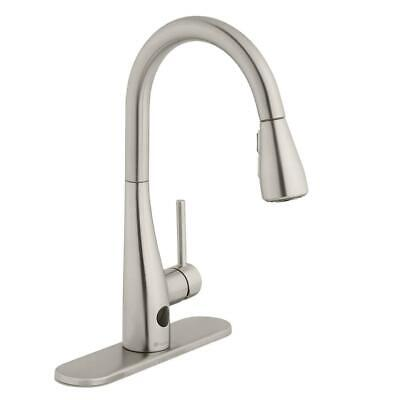 Glacier Bay Nottely Touchless 1-Handle Pull-Down Kitchen Faucet with TurboSpray