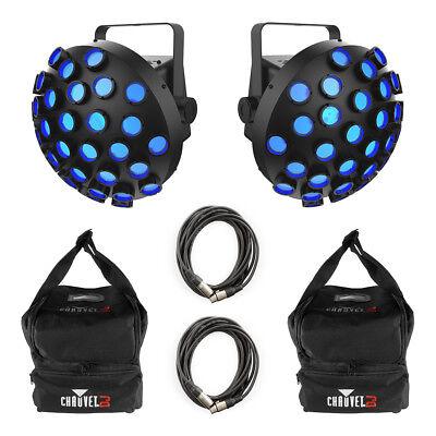 Chauvet DJ Line Dancer LED FX Light inc. Carry Bags and Cables