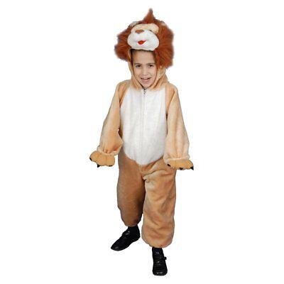 Dress Up America Deluxe Kids Plüsch Löwe Kostüm Set NEU OVP