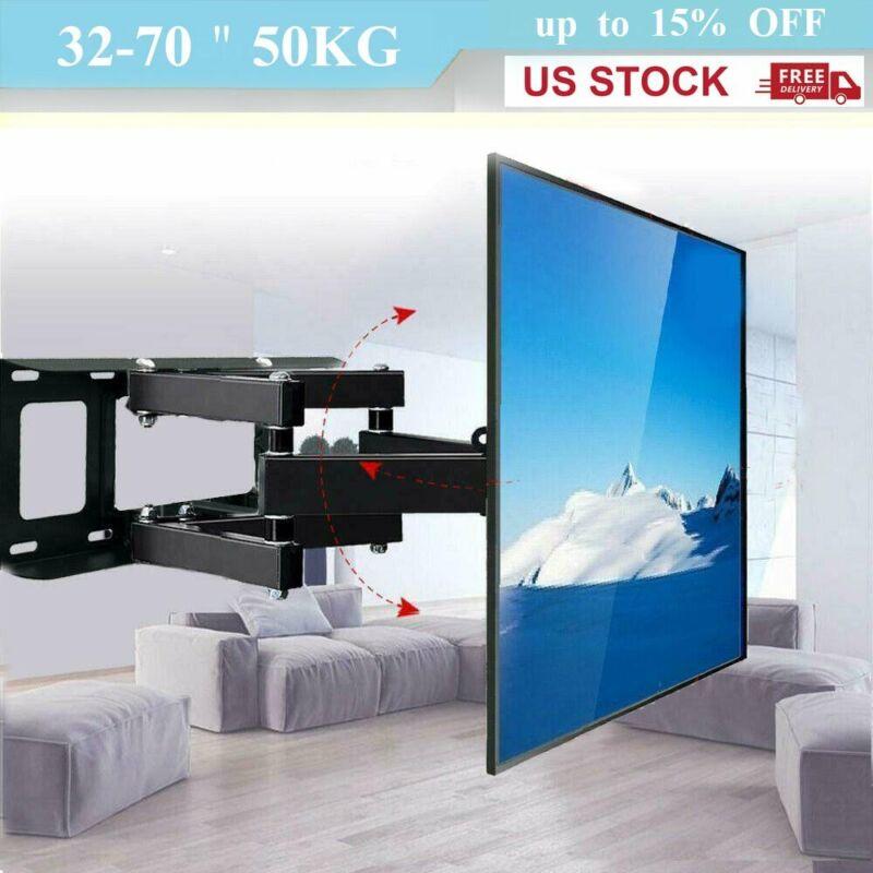 Articulating Full Motion TV Wall Mount Swivel Bracket 32 42 46 50 55 60 65 70 75