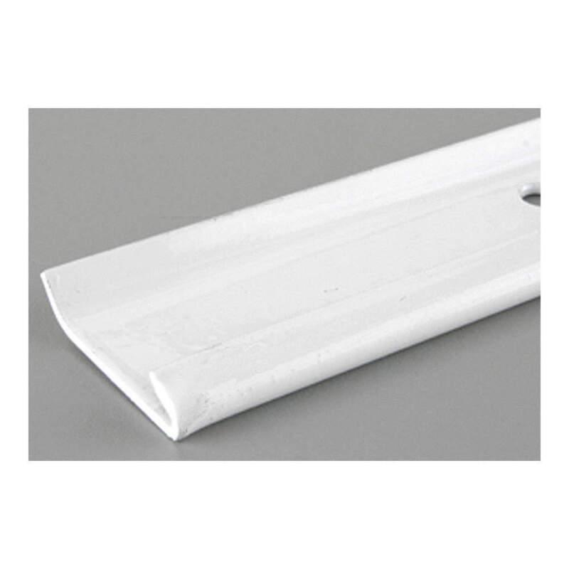 GRAINGER APPROVED 0121-40WT 40 IN White Hang Track