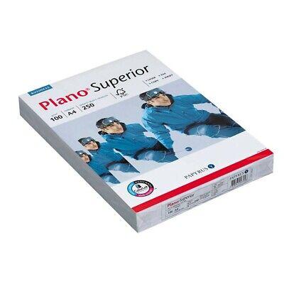250 Blatt Plano Kopierpapier Superior A4 100 g/qm  Kopier Papiere