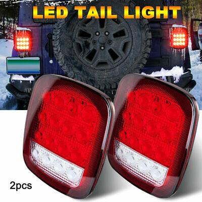 NEW Tail light Lens pair FITS Jeep CJ5 CJ7 CJ8 YJ TJ Wrangler 1976-06