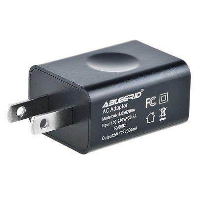 US Cavendish 5V 2A USB Port Wall Charger 5 Volt 2 Amp AC-DC Power Adapter Converter