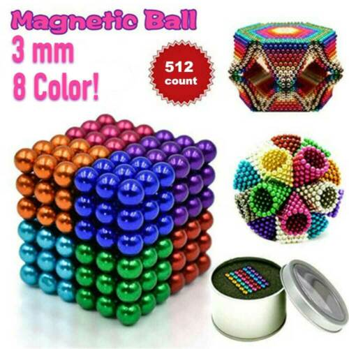 Magnet Balls set 512 (3mm) | Transform, Squish Stressball *For Adults*