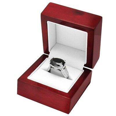 Cherry Wood Ring Gift Box Jewelry Packaging Gift Box