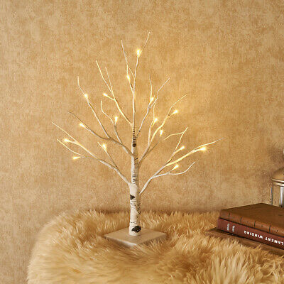 Hairui Lighted Birch Table Top Tree Home Easter Decoration Battery Operated  ()