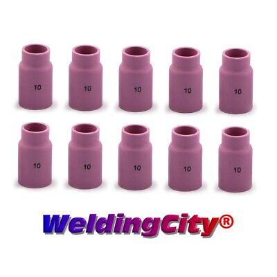 Weldingcity 10-pk Gas Lens Cup 54n14-10 10 58 Tig Welding Torch 171826 Usa