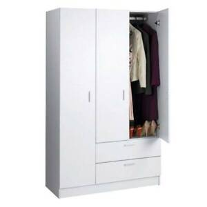 Cupboard Pantry Linen storage cupboard 2 Door Tall White Sydney City Inner Sydney Preview