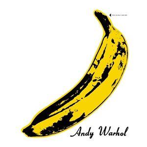 VELVET UNDERGROUND & NICO - ANDY WARHOL LP VINYL ALBUM with Peeling Banana
