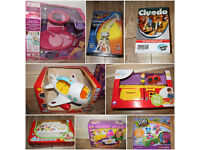 JOBLOT BUNDLE OF BRAND NEW TOYS IDEAL FOR RESALE / CAR BOOT KIDS, BABY, TODDLER GAME, CRAFT, WOODEN