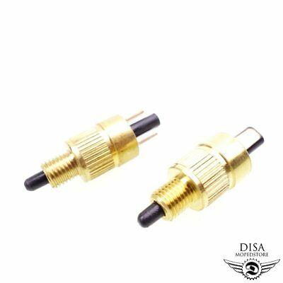 2x Bremslichtschalter für Piaggio NRG TPH Sfera NSL RST Zip SSL SP FR NEU * gebraucht kaufen  Aschaffenburg
