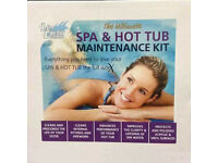 Lo Chlor Maintenance Kit Spa Hot Tub Spa Shield Cleaner Clarifier Filter cleaner