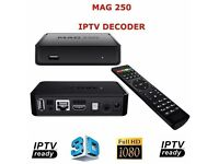 MAG 250 BOX IPTV NOT OPENBOX OR ZGEMMA MAG250