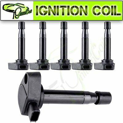 Set of 6 Brand New Ignition Coils for Acura CL RL TL Honda Accord Odyssey UF242