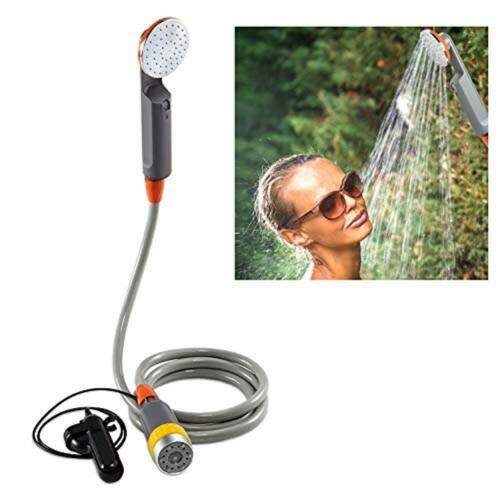 Ivation Portable Camping Shower | Compact Handheld & Hands-Free Rechargeable Out