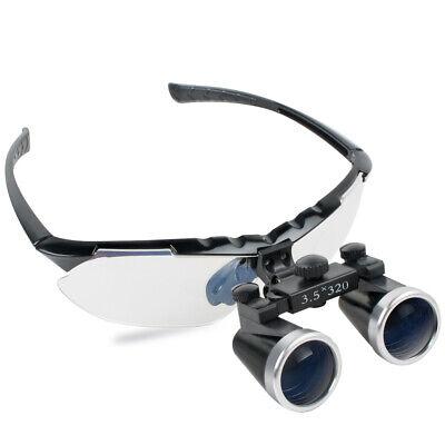 3.5x-320mm Denshine Portable Dental Binocular Loupes Medical Glasses Magnifier