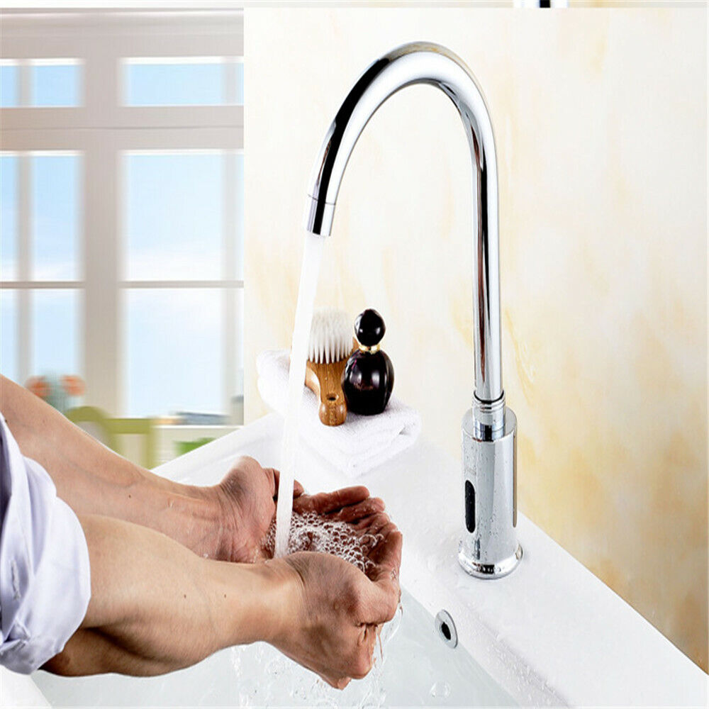 Touchless Kitchen Sink Faucets, Automatic Electronic Sensor Touchless Faucet