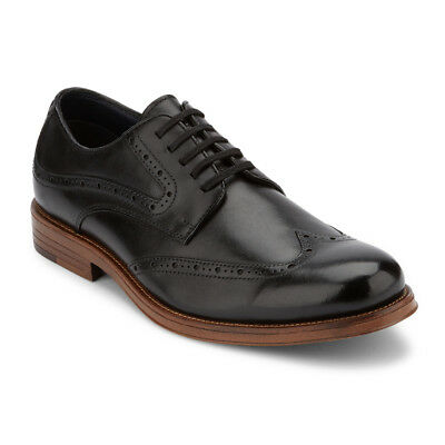 Dockers Mens Clearance Hanover Leather Dress Brogue Wingtip Lace-up Oxford Shoe