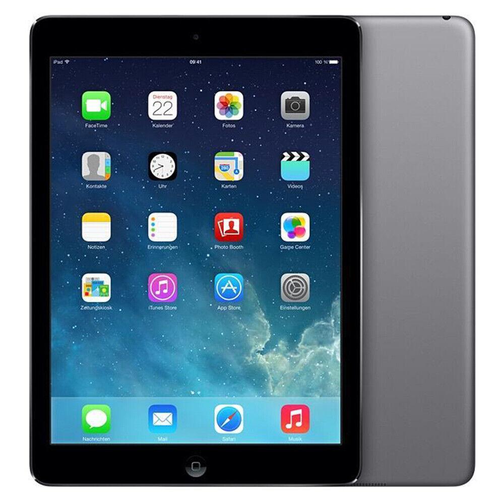 Apple iPad Air 1 Tablet LTE Cellular WLAN 16GB 32GB Spacegrau Silber 9.7 Zoll