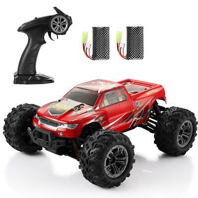 RC Car 4WD 36km/h High Speed Remote Control Monster Truck 9130 Red 1:16