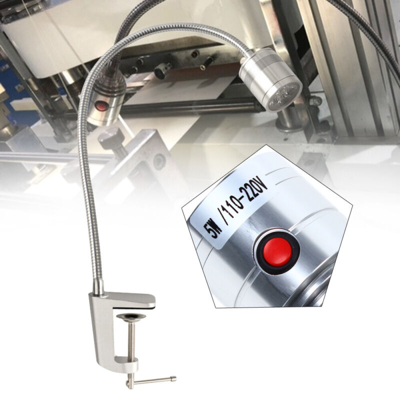 LED Machine Lamp  Milling Machines Lathes Light Industrial Lamp Adjustable Focus
