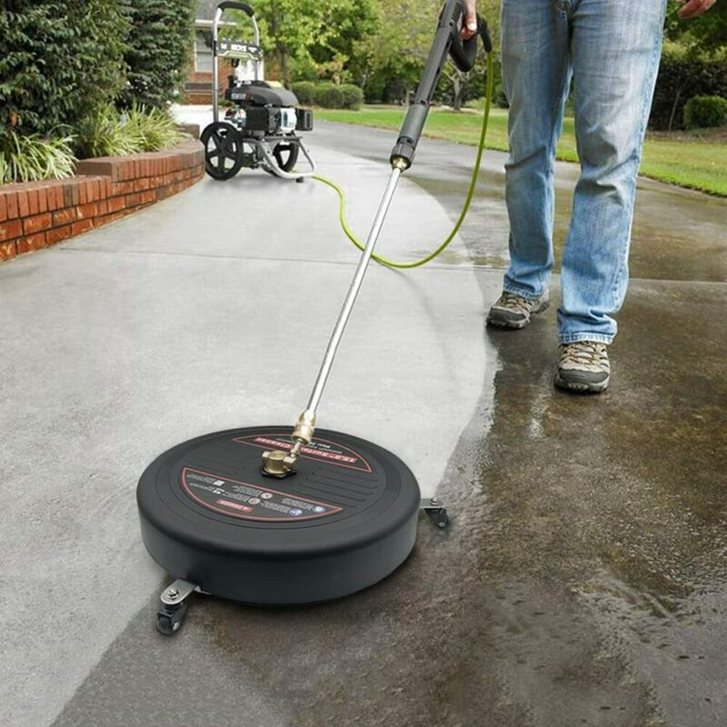"""15.8""""Pressure Washer Surface Cleaner with Pressure Washer Extension Wand,3600PSI"""