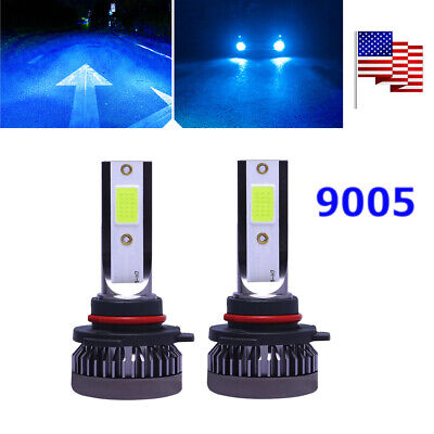 9005 HB3 LED Headlights Conversion Kit Car Truck Parts LED Lights 8000K Ice Blue Gmc Canyon Truck Parts