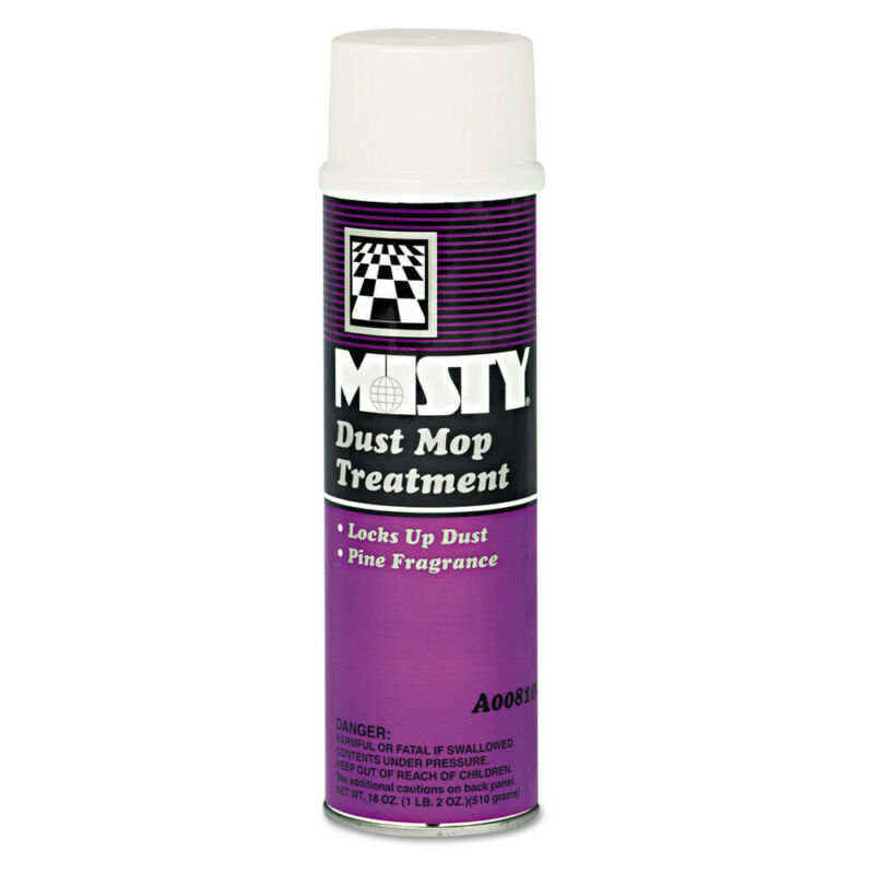 Amrep Dust Mop Treatment, Pine, 20oz Aerosol, 12/carton 1003402 NEW